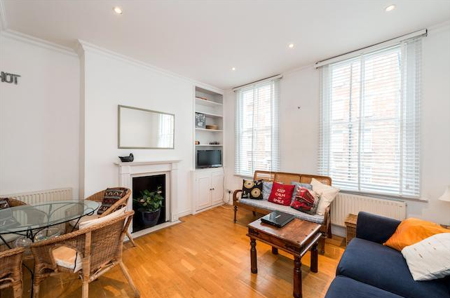 Living Room Marylebone Property Sale Bell Street 3 Bedroom Flat